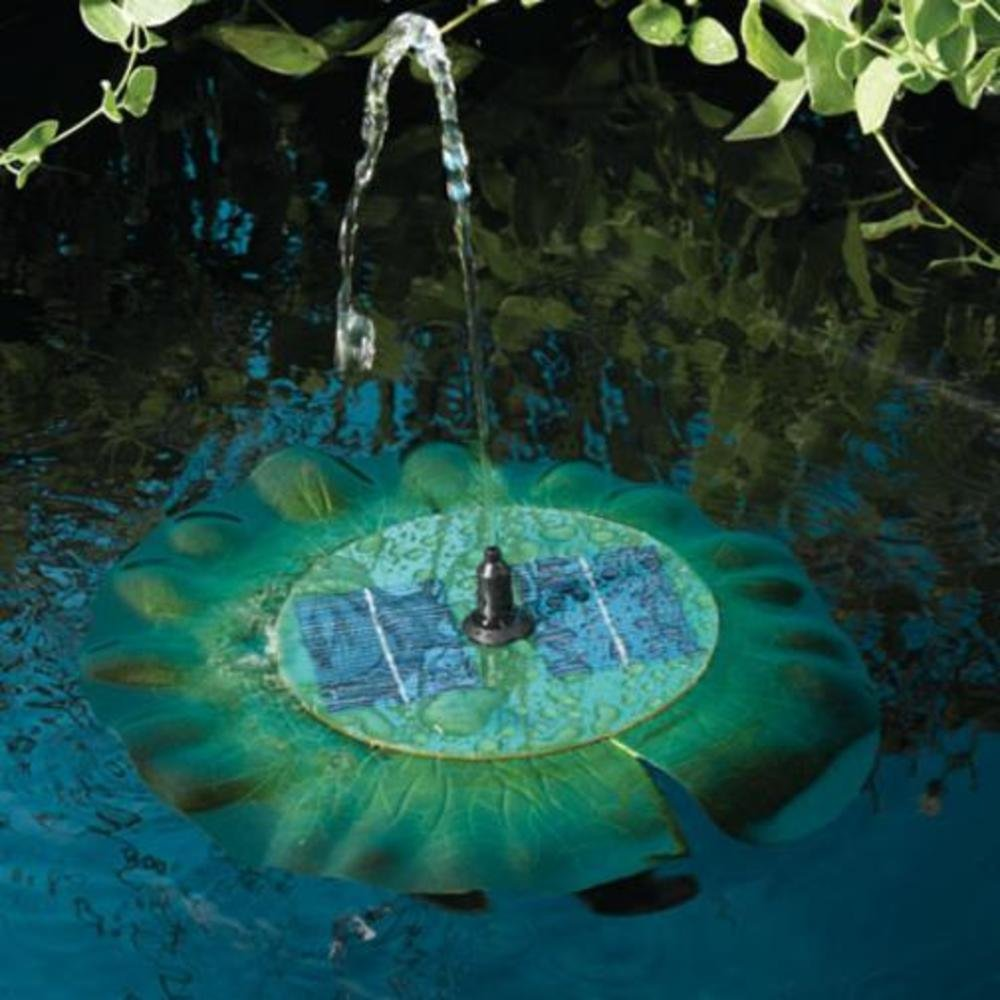 Best solar powered pond fountain pumps 2018 reviews for Solar water filter for ponds